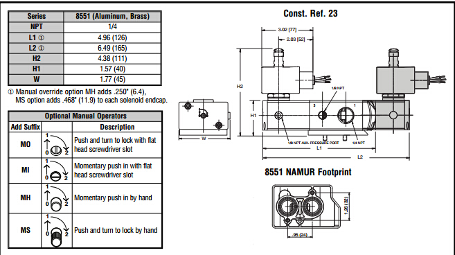 asco电磁阀二位三通阀技术原理参数图片