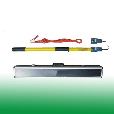 高压直流验电器采用微功耗集成电路,静态功耗极微,因此长期使用无须