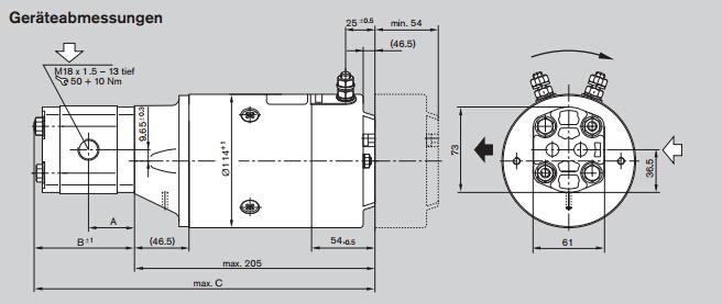 rexroth柱塞泵/rexroth液压泵性能原理
