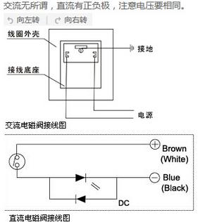 atos电磁阀接线图