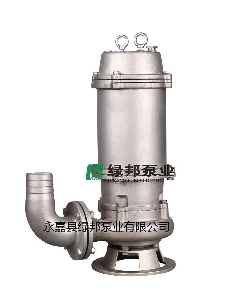 不锈钢潜水排污泵,自动搅匀排污泵