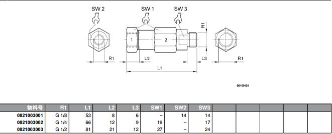 力士乐电磁阀力士乐单向阀结构原理nr01系列直通式图片图片
