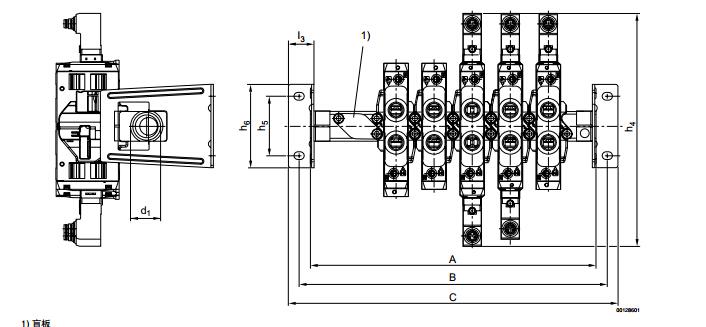 力士乐电磁阀三位五通换向阀密封原理tc08图片