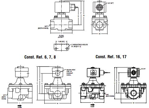 asco电磁阀工作原理系列8040