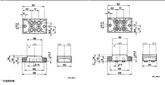 力士乐电磁阀逻辑功能原理551系列