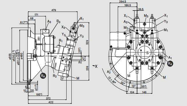 rexroth柱塞泵工作原理a8vo