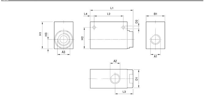 力士乐电磁排气阀结构原理0821002003