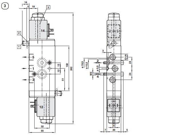 norgren诺冠电磁阀流量,norgren诺冠电磁阀接口尺寸,norgren诺冠电磁