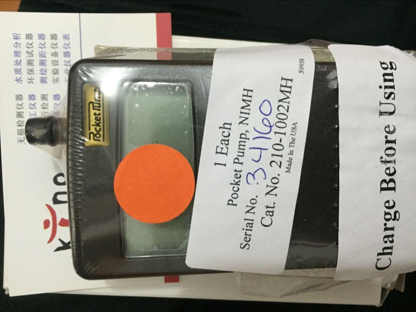 美国SKC Pocket Pump袖珍采样泵