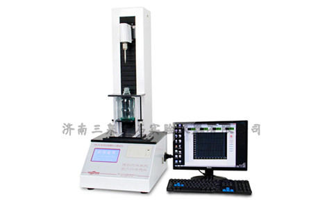 注射剂瓶用两接桥开花铝盖开启力测试仪