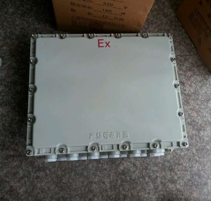 500*600*200铸铝防爆接线箱|海哲防爆配电箱厂家