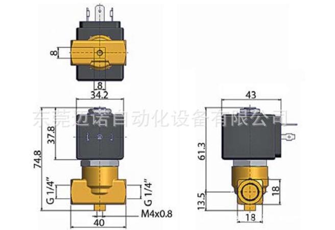 lucifer系列pm140dr型派克电磁阀雨量桶图片