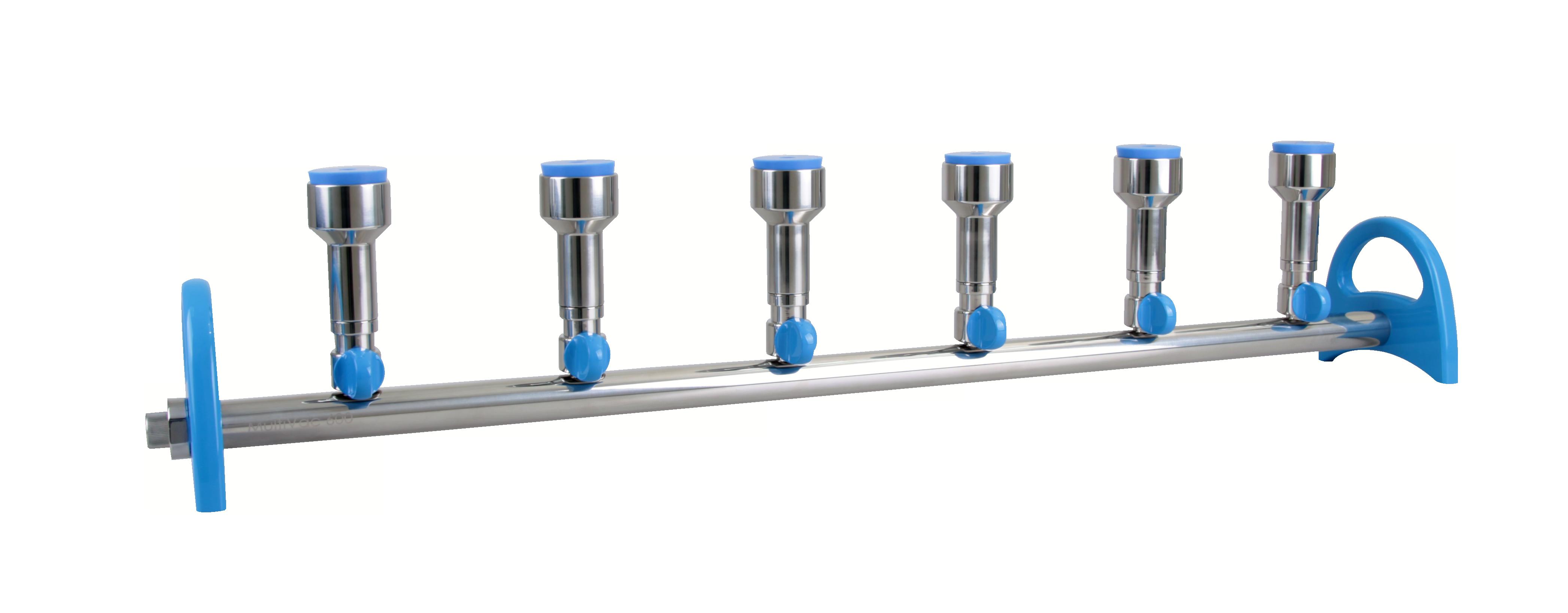 【洛科仪器】MultiVac 600-MS 硅胶塞式不锈钢多联过滤器