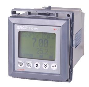 在线式pH温度控制器