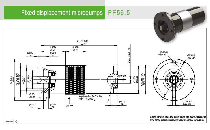 5 0523400 hydro leduc微型液压泵pf56.5 0523400图片