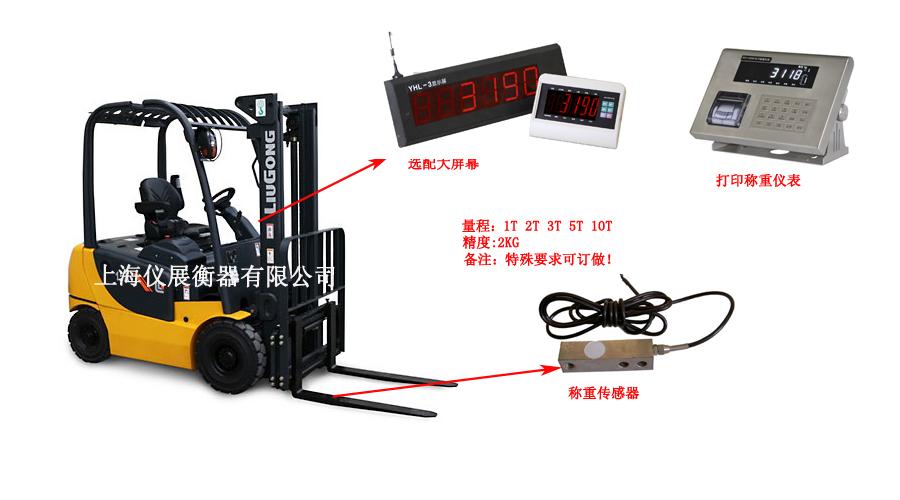 合力电动叉车加装电子称厂家(内燃机叉车秤)