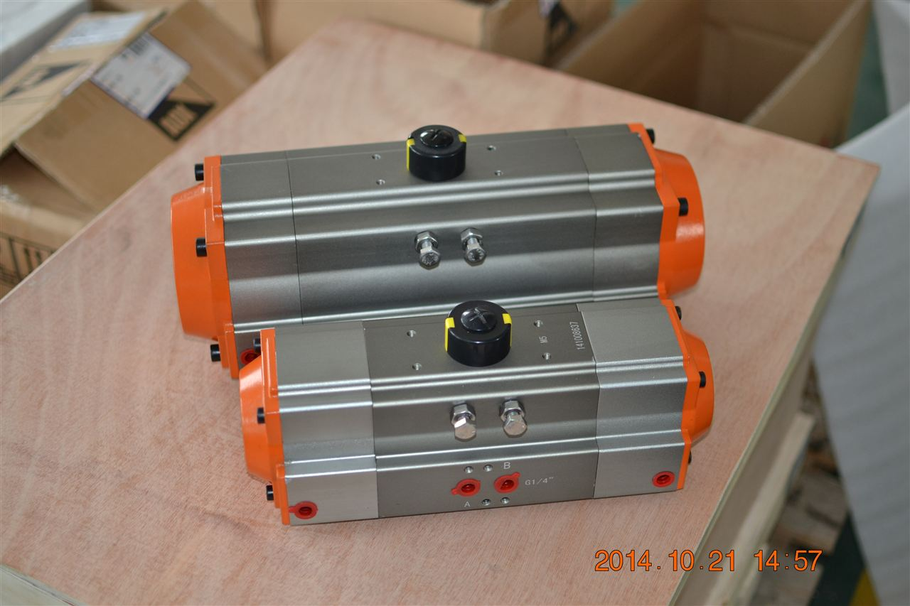 poada铝合金三段式气动执行器