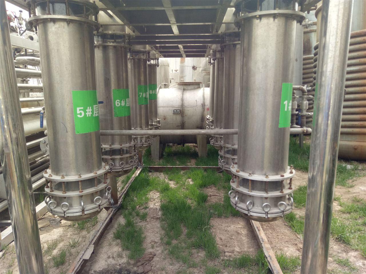 二手工业化不锈钢层析柱机组