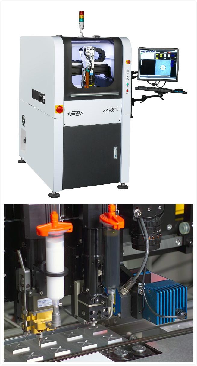 该系统为芯片封装,电路板组装,医疗用品等产品的点胶应用而设计,轨道