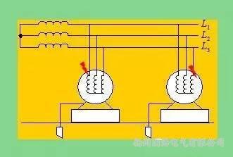 不同相漏电保护