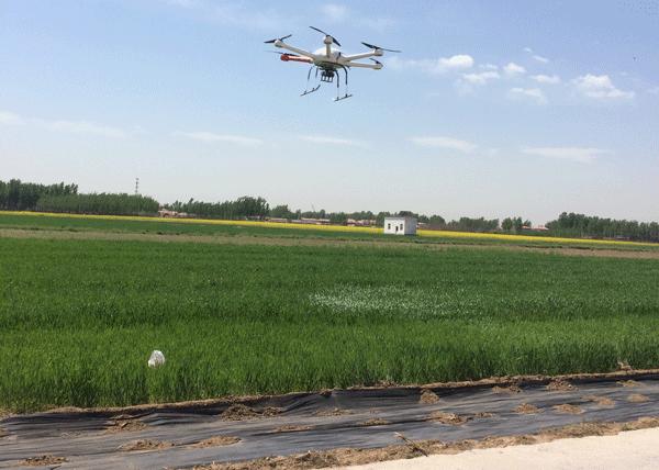 涿州试验站启用高速成像光谱仪 可分析土壤水分含量