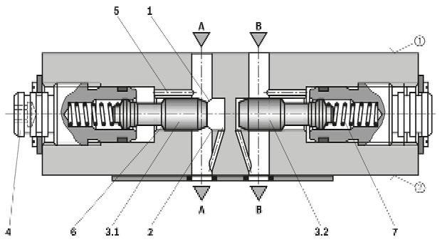 rexroth单向节流阀z2fs 10系列特价销售  rexroth节流阀z2fs 10结构图