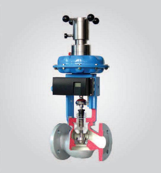 阀内组件 阀芯型式:单座套筒式柱塞阀芯 流量特性:等百分比(%)和线性图片
