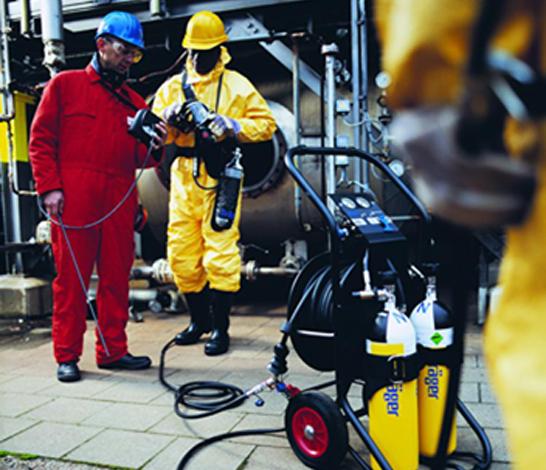 德尔格PAS Airpack1重型长管供气系统