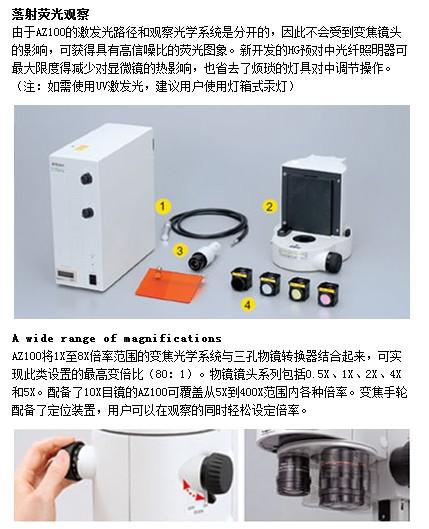 尼康Multizoom AZ100/AZ100M多功能变倍显微镜