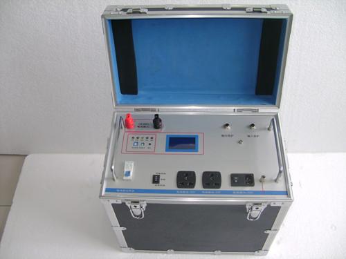 > 便携式工频试验电源技术参数
