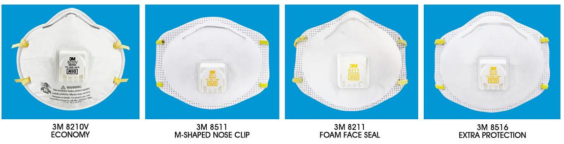 带阀N95口罩