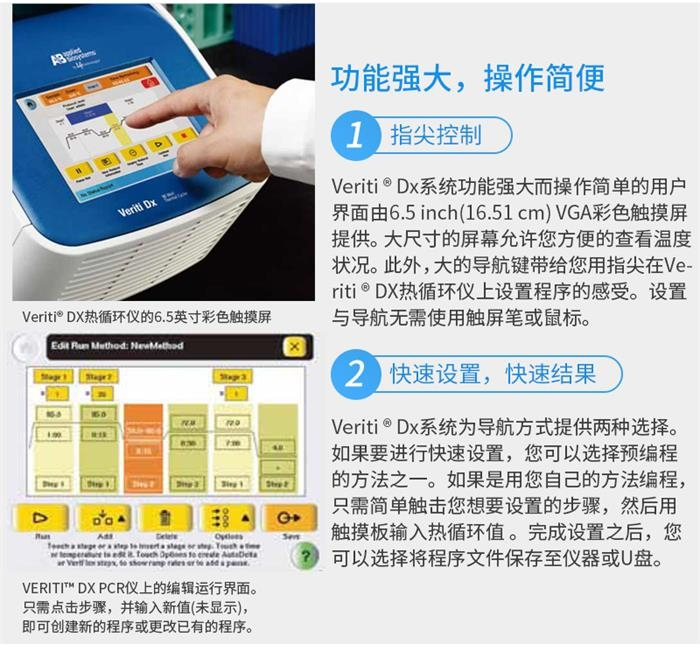 ABI Veriti  96孔 梯度PCR仪(0.2ml)功能讲解