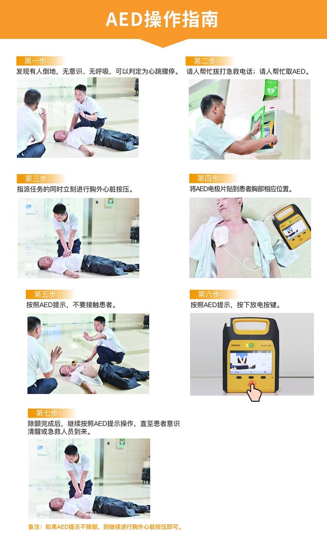 迈瑞除颤仪AED公共版D1操作步揍