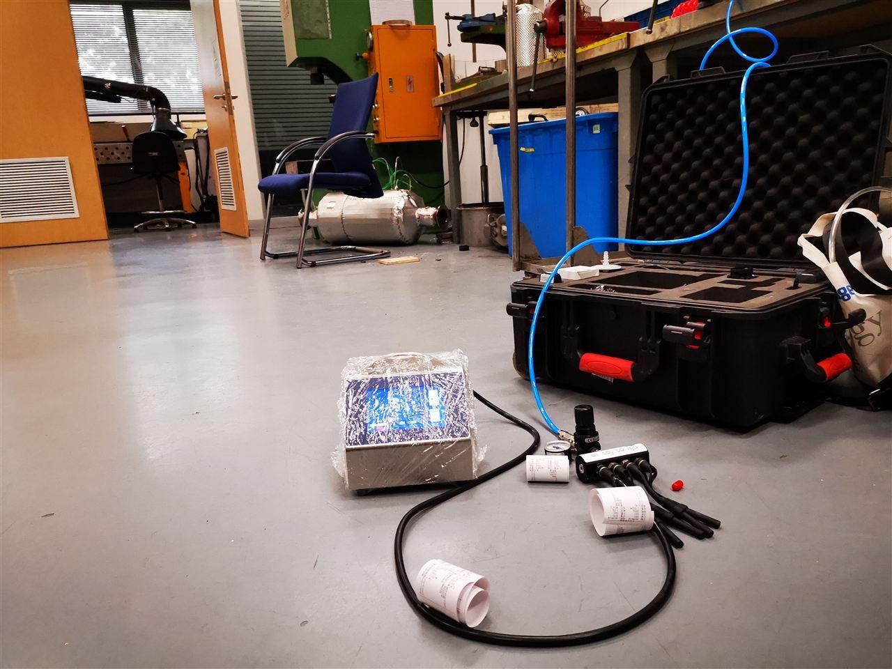 压缩空气颗粒物检测
