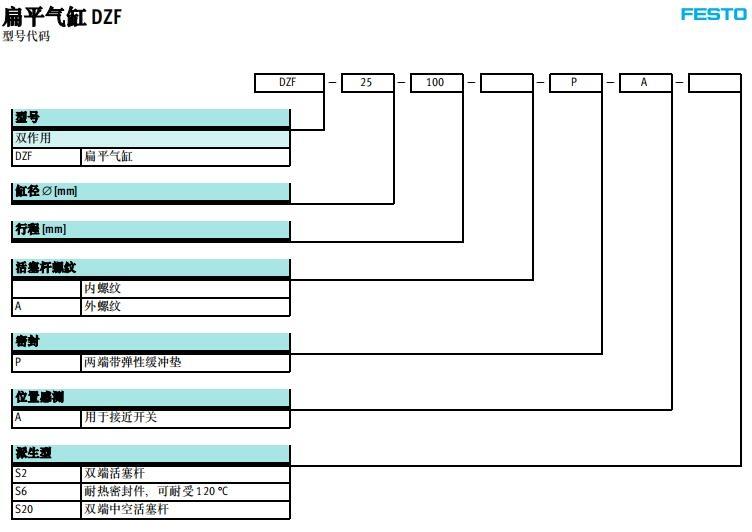 DZF-50-10-P-A現貨FESTO報價