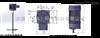 立式液体混合搅拌机KD-20型,电机功率200W配300L加药桶PE加药桶