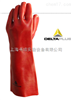 201402代尔塔防化手套201402  代尔塔PVC微生物加强硫化手套 201402 PVC防护耐酸碱手套
